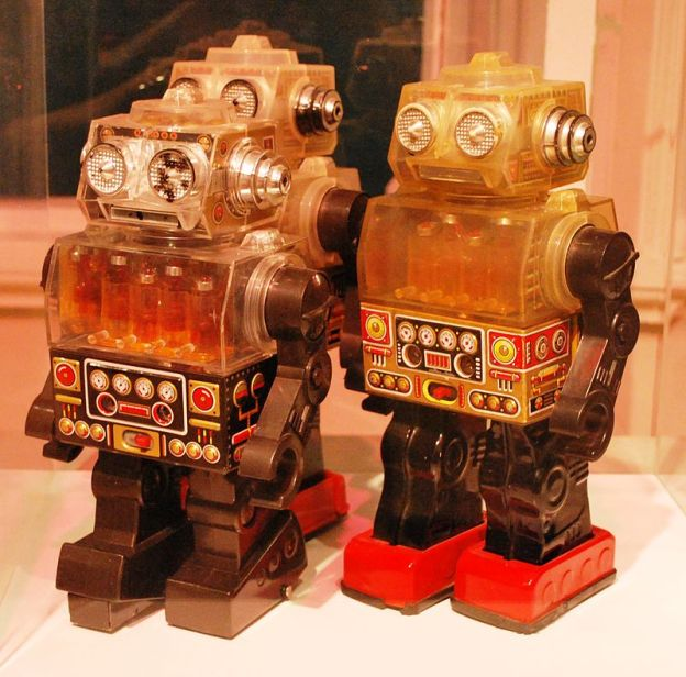 Robots in those days